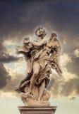 Γλυπτό αγγέλου στο Castel Sant ` Angelo Στοκ Εικόνες