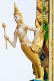 Γλυπτό αγγέλου της Ταϊλάνδης Στοκ Φωτογραφίες