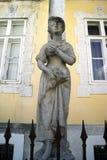 Γλυπτό από τις εποχές σειράς, Cetinje Στοκ εικόνες με δικαίωμα ελεύθερης χρήσης