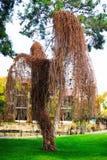Γλυπτό από το δέντρο στο ξενοδοχείο σε Kemer, Τουρκία Στοκ Φωτογραφία