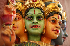 Γλυπτό, αρχιτεκτονική και σύμβολα Hinduism και του βουδισμού στοκ εικόνα
