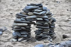 Γλυπτό βράχου Στοκ φωτογραφίες με δικαίωμα ελεύθερης χρήσης