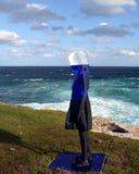 Γλυπτό θαλασσίως σε Bondi Στοκ φωτογραφία με δικαίωμα ελεύθερης χρήσης