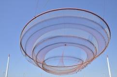 Γλυπτό διχτυού του ψαρέματος Στοκ φωτογραφία με δικαίωμα ελεύθερης χρήσης