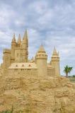 Γλυπτό κάστρων άμμου Στοκ φωτογραφίες με δικαίωμα ελεύθερης χρήσης