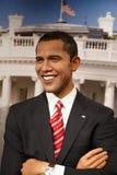 Γλυπτό κεριών Obama Barack στο μουσείο Στοκ Εικόνες