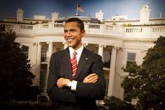Γλυπτό κεριών Obama Barack στο μουσείο Στοκ εικόνες με δικαίωμα ελεύθερης χρήσης