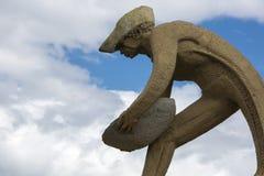Γλυπτό μνημείων στην πόλη Boa Vista, Βραζιλία στοκ φωτογραφία με δικαίωμα ελεύθερης χρήσης