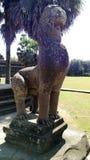 Γλυπτό ναών Wat Angkor Στοκ φωτογραφία με δικαίωμα ελεύθερης χρήσης