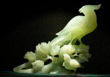 Γλυπτό νεφριτών του πουλιού ουρανού, ιερό ζώο στην Κίνα στοκ φωτογραφία με δικαίωμα ελεύθερης χρήσης