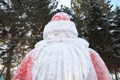 Γλυπτό παγετού πατέρων Στοκ Εικόνα