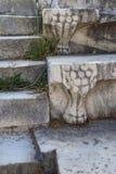 Γλυπτό ποδιών λιονταριού Στοκ Εικόνα