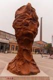 Γλυπτό σε 798 street.beijing Στοκ φωτογραφία με δικαίωμα ελεύθερης χρήσης