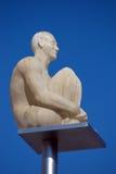 Γλυπτό στην πλατεία Massena στη Νίκαια, Γαλλία Στοκ φωτογραφίες με δικαίωμα ελεύθερης χρήσης