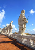 Γλυπτό στον καθεδρικό ναό του ST Peter σε Βατικανό, Ρώμη, Ιταλία Στοκ φωτογραφία με δικαίωμα ελεύθερης χρήσης