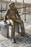 Γλυπτό στο πάρκο του ST Jacob σε Opatija Κροατία στοκ εικόνες