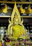 Γλυπτό Ταϊλανδός του Βούδα Στοκ φωτογραφία με δικαίωμα ελεύθερης χρήσης