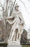 Γλυπτό του βασιλιά Euric Plaza de Oriente, Μαδρίτη, Ισπανία Στοκ εικόνες με δικαίωμα ελεύθερης χρήσης