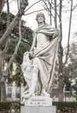 Γλυπτό του βασιλιά Leovigild Plaza de Oriente, Μαδρίτη, Ισπανία Στοκ Εικόνα