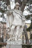 Γλυπτό του βασιλιά Wamba Plaza de Oriente, Μαδρίτη, Ισπανία Στοκ φωτογραφία με δικαίωμα ελεύθερης χρήσης