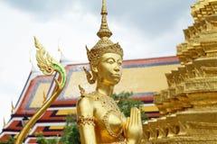 Γλυπτό του Βούδα στο μεγάλο παλάτι, Ταϊλάνδη Στοκ φωτογραφία με δικαίωμα ελεύθερης χρήσης