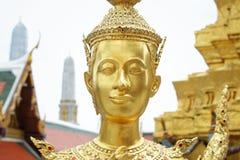 Γλυπτό του Βούδα στο μεγάλο παλάτι, Ταϊλάνδη Στοκ Εικόνες