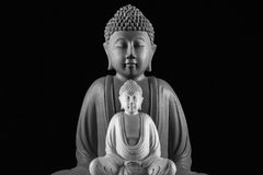 γλυπτό του Βούδα στοκ φωτογραφίες