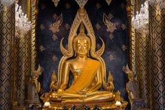 Γλυπτό του Βούδα Chinnarat Στοκ Εικόνες