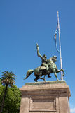 Γλυπτό του στρατηγού Belgrano στο Μπουένος Άιρες Στοκ Εικόνα