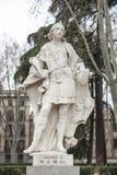 Γλυπτό του Alfonso ΙΙΙ Plaza de Oriente, Μαδρίτη, Ισπανία Στοκ φωτογραφία με δικαίωμα ελεύθερης χρήσης