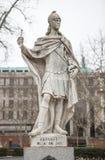 Γλυπτό του Alfonso Ι των αστουριών Plaza de Oriente, Μαδρίτη, Στοκ φωτογραφία με δικαίωμα ελεύθερης χρήσης