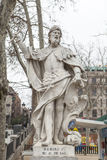 Γλυπτό του Ramiro Ι των αστουριών Plaza de Oriente, Μαδρίτη, S Στοκ Φωτογραφίες