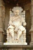 Γλυπτό του Sir Chinubhai Beronet κοντά στο οχυρό Bhadra, Ahmedabad Στοκ Εικόνα