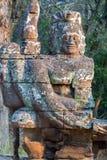 Γλυπτό Angkor Wat, Khmer ναός σύνθετος, Ασία Το Siem συγκεντρώνει, έκκεντρο Στοκ φωτογραφία με δικαίωμα ελεύθερης χρήσης