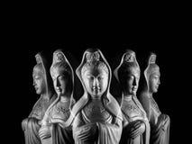Γλυπτό Avalokitasvara Bodhisattva/Guan Yin/Guanshiyin στοκ φωτογραφία με δικαίωμα ελεύθερης χρήσης