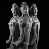 Γλυπτό Avalokitasvara Bodhisattva/Guan Yin/Guanshiyin στοκ εικόνα