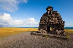 Γλυπτό Bardur στη χερσόνησο Snaefellsness, δυτική Ισλανδία Στοκ Φωτογραφίες