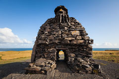 Γλυπτό Bardur στη χερσόνησο Snaefellsness, δυτική Ισλανδία Στοκ φωτογραφία με δικαίωμα ελεύθερης χρήσης