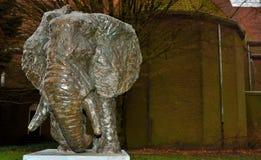 Γλυπτό Elefant Στοκ Εικόνες