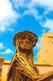 Γλυπτό Puerto de Λα Cruz, Tenerife, Κανάριο νησί, Ισπανία Στοκ φωτογραφία με δικαίωμα ελεύθερης χρήσης
