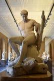 Γλυπτό Theseus και το Minotaur από το Antonio Canova Στοκ Εικόνα