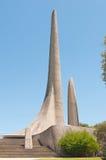 Γλωσσικό μνημείο αφρικανολλανδικής σε Paarl στοκ εικόνες
