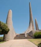 Γλωσσικό μνημείο αφρικανολλανδικής σε Paarl στοκ φωτογραφία