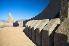 Γλωσσικό μνημείο αφρικανολλανδικής στοκ εικόνα
