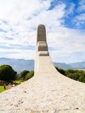 Γλωσσικό μνημείο αφρικανολλανδικής στοκ εικόνες