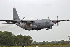 Γ-130H μεταφορικό αεροπλάνο Hercules Στοκ Εικόνα