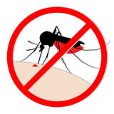 Δάγκωμα κουνουπιών Στοκ φωτογραφίες με δικαίωμα ελεύθερης χρήσης