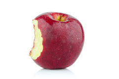 Δάγκωμα της Apple επάνω Στοκ Φωτογραφίες