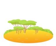δάση διανυσματική απεικόνιση