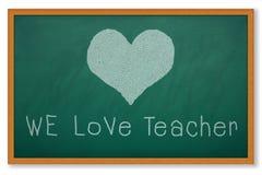 δάσκαλος αγάπης στοκ εικόνα με δικαίωμα ελεύθερης χρήσης
